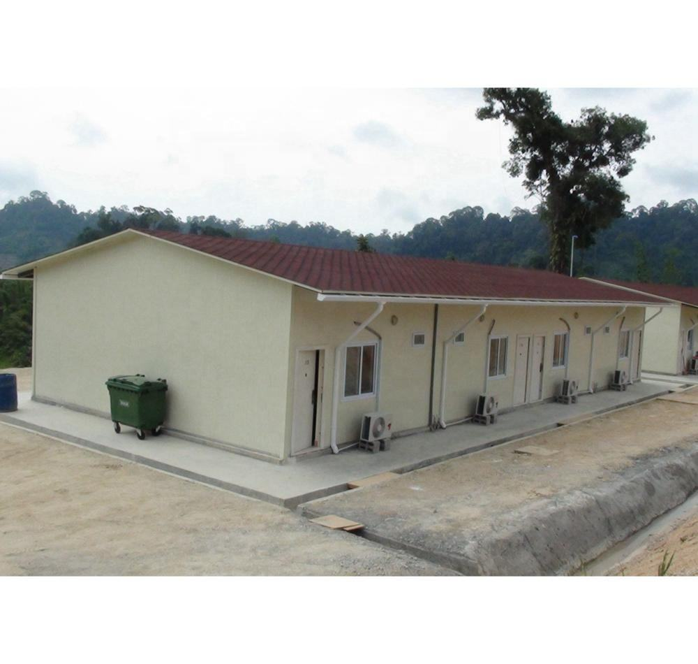 Construction site prefabricated house Staff accommodation building TCF camp modular house