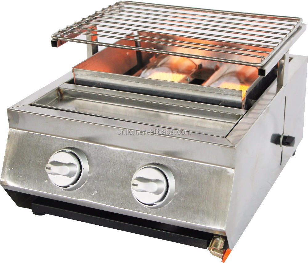 Stainless Steel Barbecue BBQ Gas Grill