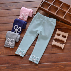 High Quality Custom 0-1-2-3-4 Years Old Baby Autumn Cotton Leggings Long Pants