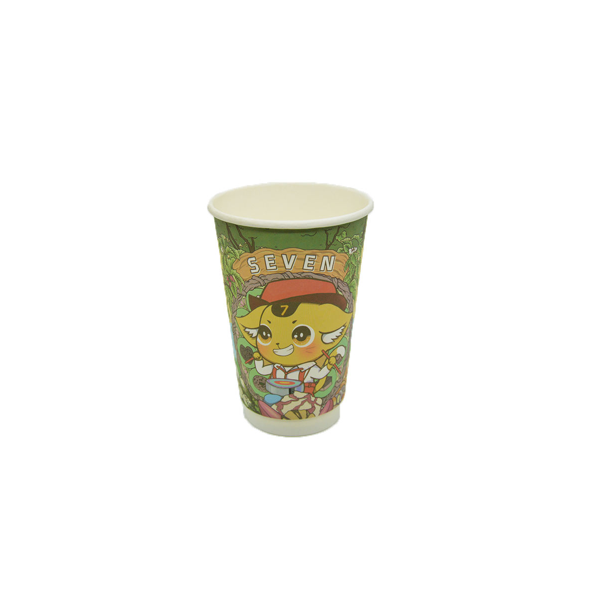 Extripod factory price pe coated disposable cup cover paper