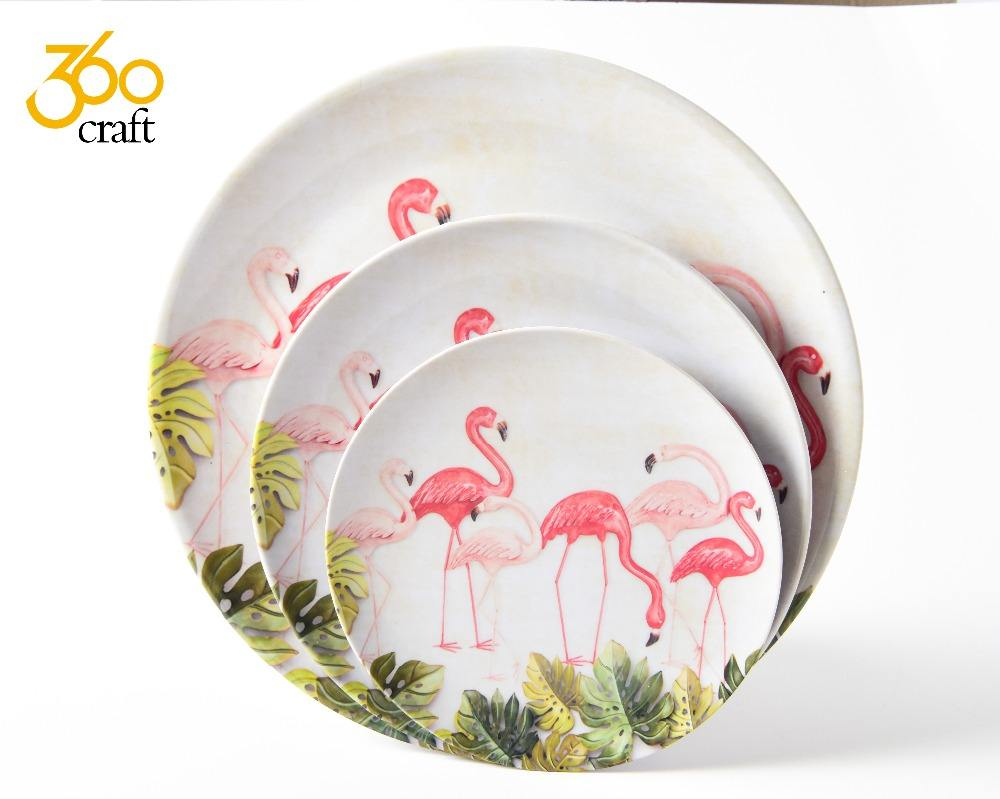 Saft health melamine japanese dish plates for restaurants microwave safe