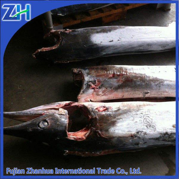冷凍シーフード青いカジキの魚