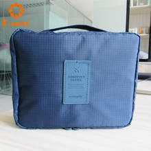 Excellent quality hanging toiletry bag travel kit for men