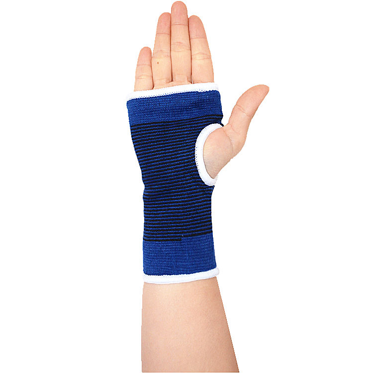 HYL-1957 factory price cotton hand palm support gym wrist brace band
