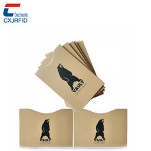 Anti-Scanning credit card holder rfid card protector sleeve