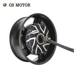 96v 140kmh QS Motor 17x6.0inch 12kW 260 Electric Motorcycle