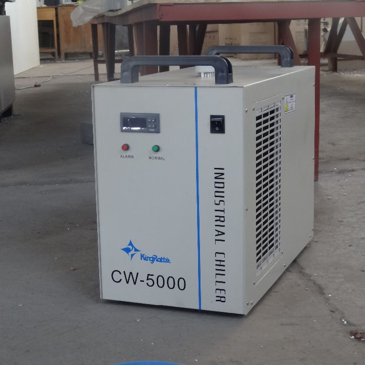 Jinan King Kelinci Sertifikat CE Industri <span class=keywords><strong>CO2</strong></span> Laser CW-5000 Water Chiller