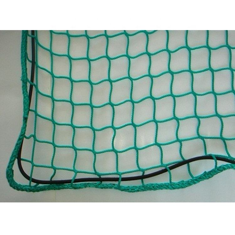 Factory supply hign quality 3.5x4m PP knotless Truck Cover Net Trailer Cargo Net Container Cargo Net