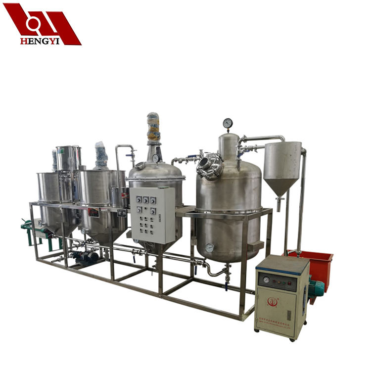 used cooking oil refinery/palm oil processing plant/small scale cooking oil refining machine