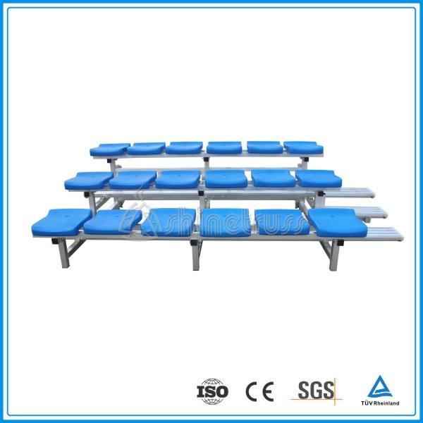 Rápido montaje de baloncesto Portátil etapa gradas de <span class=keywords><strong>asientos</strong></span> de madera