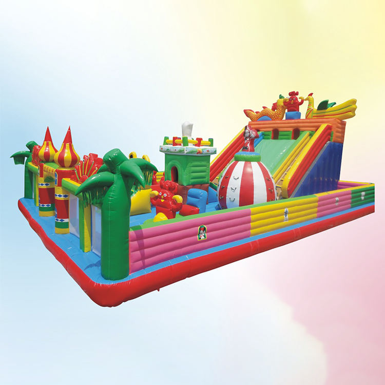 Factory direct inflatable slide children slide castle outdoor playground equipment large inflatable slide for kids