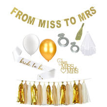 Bachelor Party Decorations Favors Supplies hen party favors bridal shower gifts miss to mrs bachelor kit