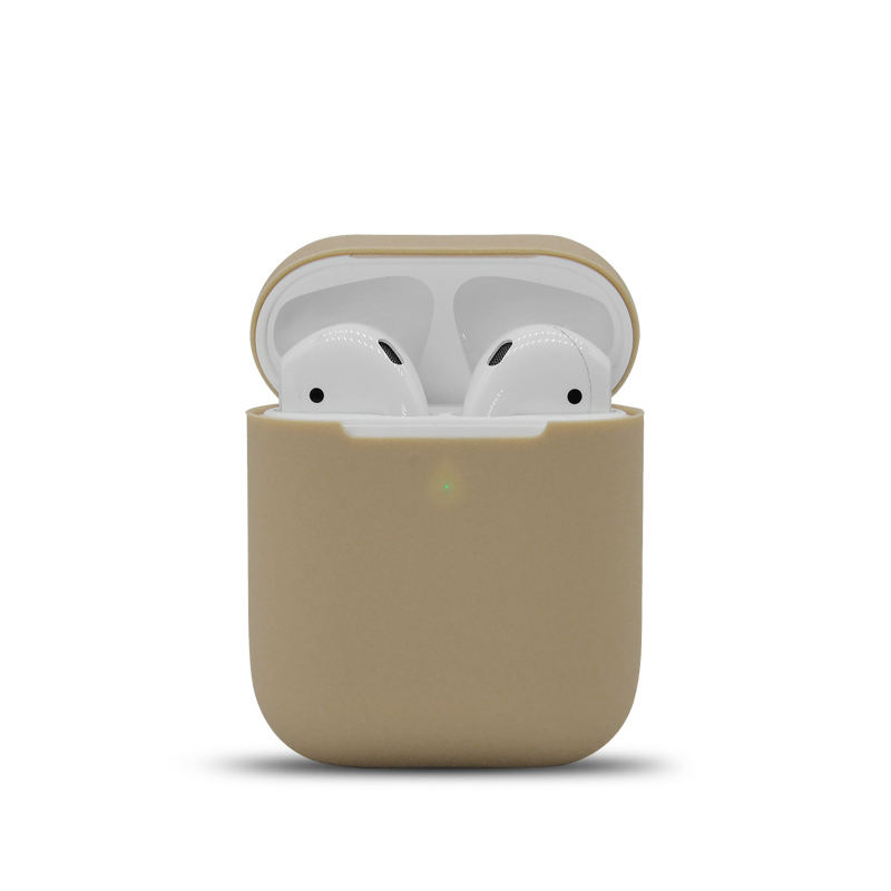 anti-fall protective cover personality original silicone protective cover case for airpods earphones apple