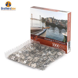 Custom Personalized Board1000 pieces Jigsaw Puzzle Printer