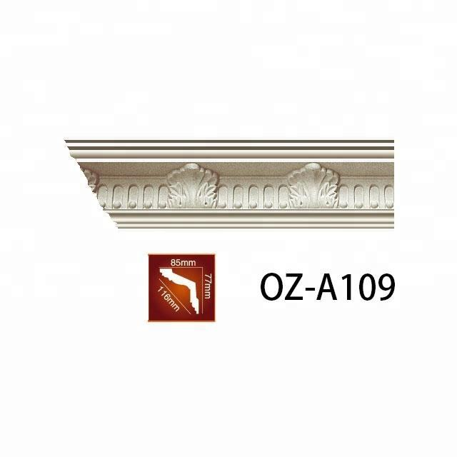 interior decoration of house wall ceiling decoration cornice polyurethane cornice