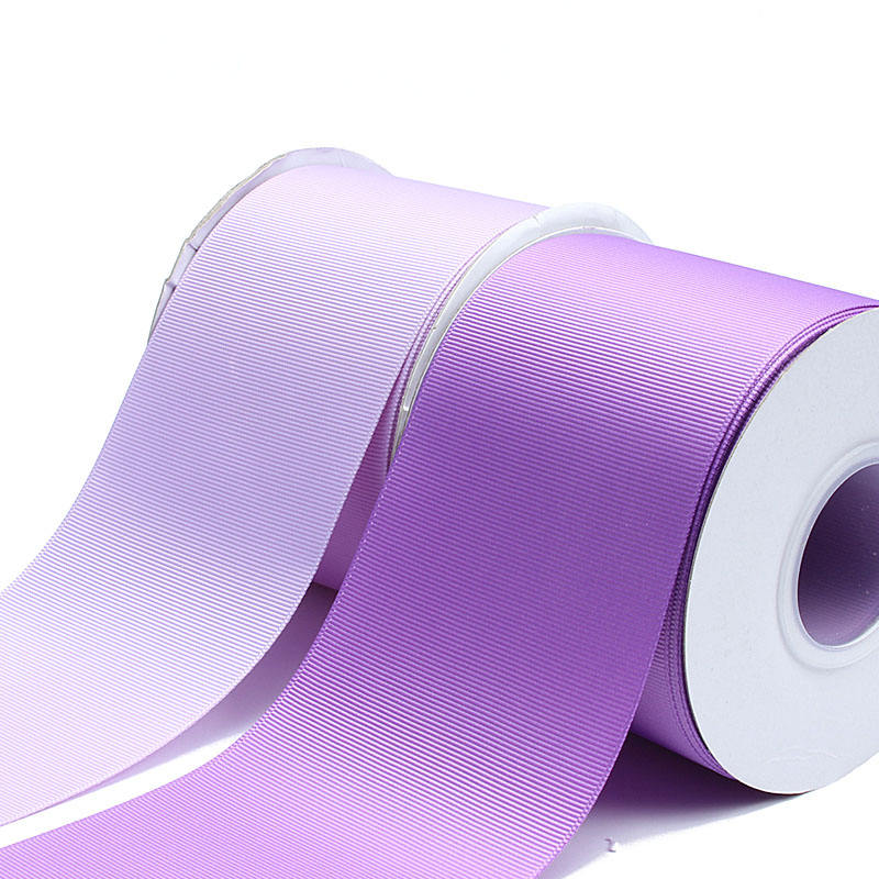 Factory wholesale 3 inch liston 75mm solid color grosgrain ribbon for bows