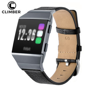 New Replacement Accessories Straps For Fitbit Wristband,Leather Wrist Watch Bands For Fitbit Ionic Leather Strap