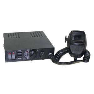 100W 150W 200W Fire Truck Siren Patrol Car Siren Amplifier With Loudspeaker Alarm Big Microphone For Police Lightbar