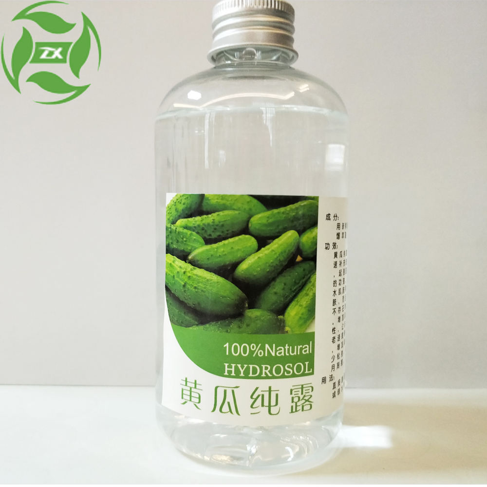 100% Pure and natural Cucumber hydrosol Geranium water for shin care Moisturizing and Whitening at bulk price
