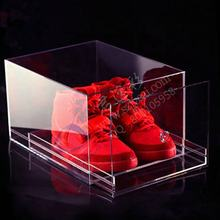 High quality clear acrylic shoe drawer