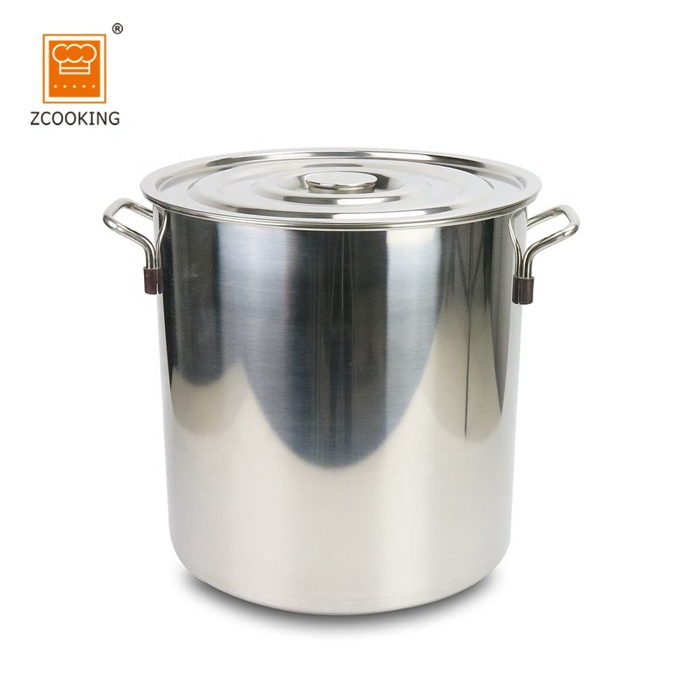 New Design Canteen Hotel Stainless Steel Large Cooking Pots or Soup Pots