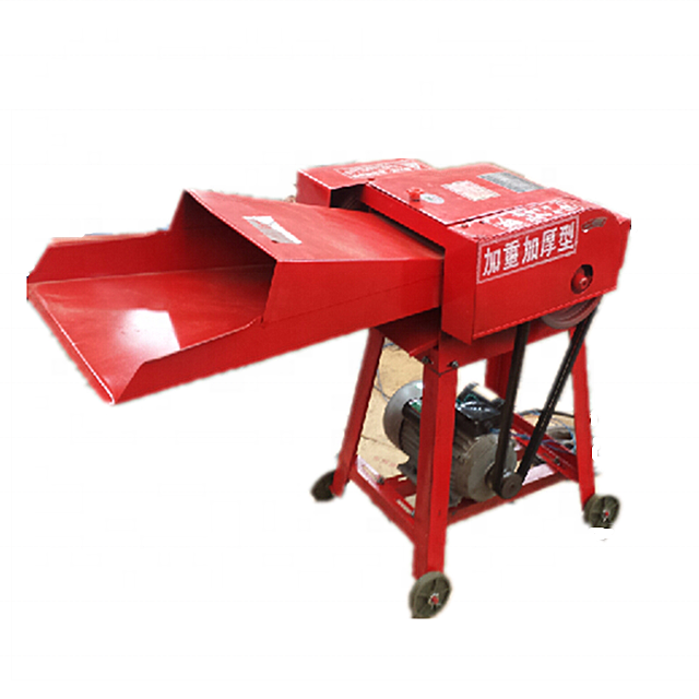 Farm Machinery Animal Feed Cow Straw Hay Forage Chopper Small Mini Chaff Cutter Machine on sale