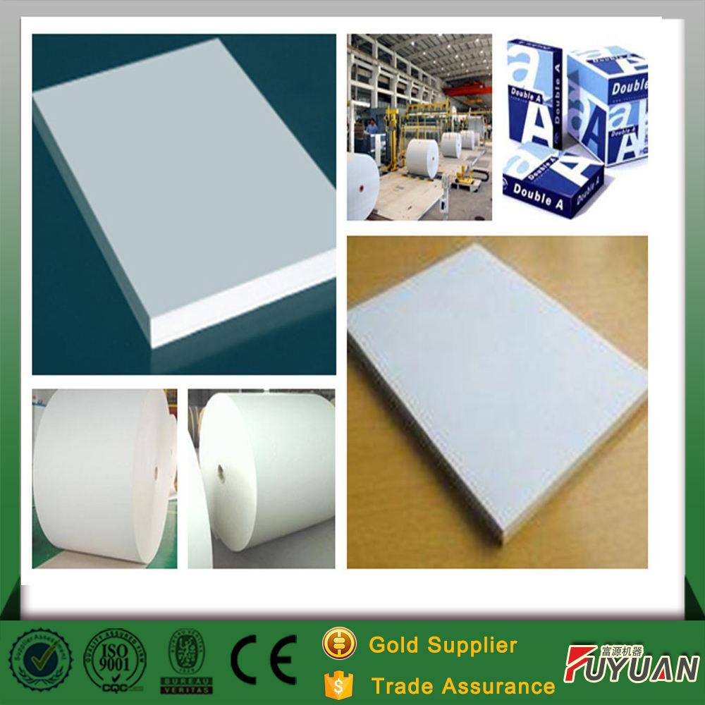 Impressão do caderno escrita de papel que faz a máquina, o papel da cultura a partir de Henan moinho de papel para venda