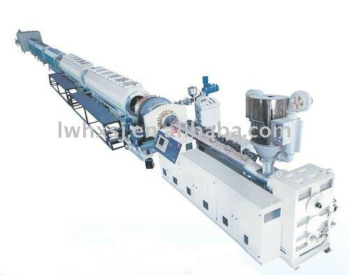 Plastic PP-R Hot Water Pipe Extruding Machine