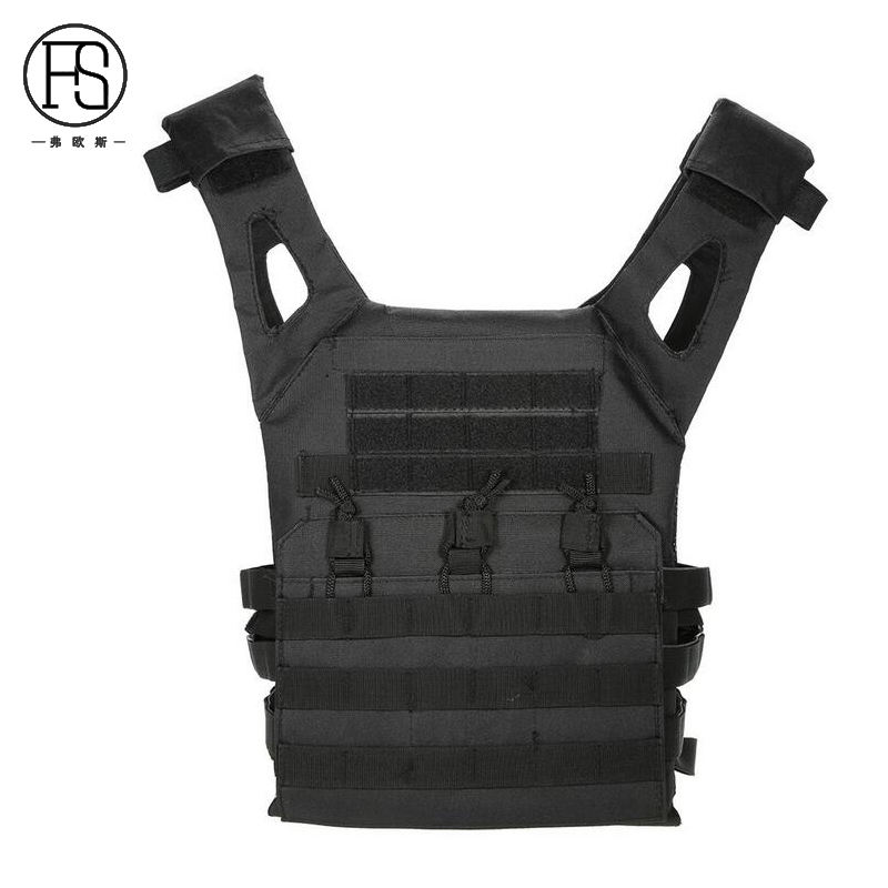 Tactical Laser-Cut JPC Vest Light-Weight MOLLE Lazer Special Plate Carrier Hunting Vest for Paintball Airsoft