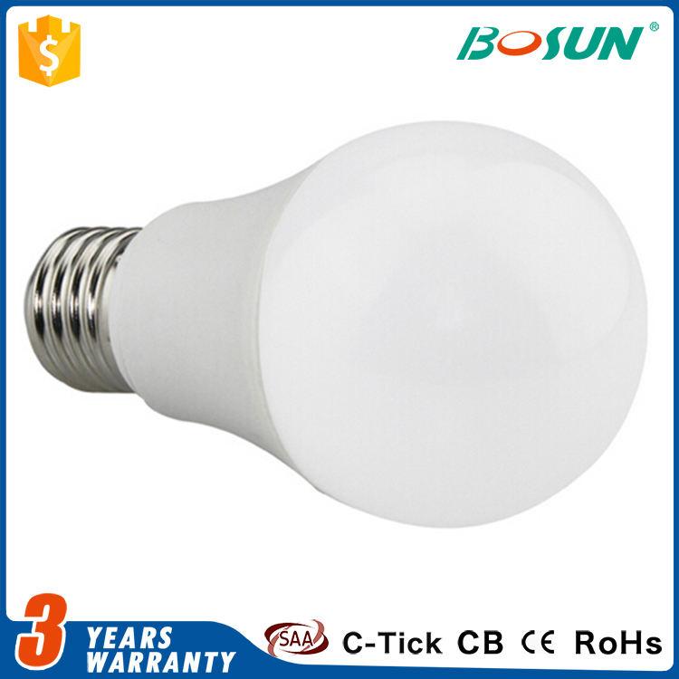 최고의 가격 방수 조명 알루미늄 하우징 b22 e27 led 전구 램프