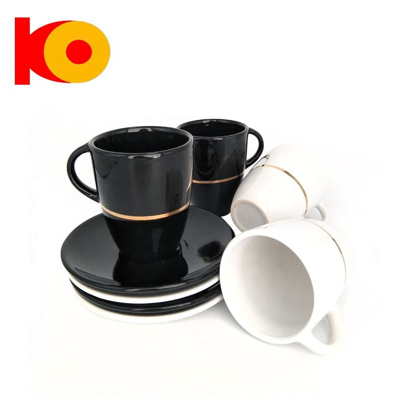Wholesale high quality porcelain tea cup and saucer ceramic