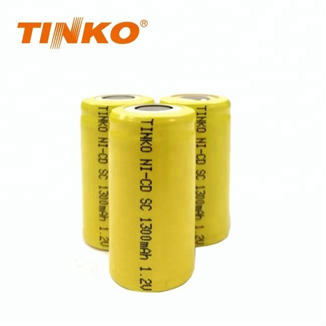 mid year sales NI-CD SC 1300mAh Rechargeable Battery