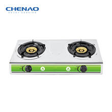 High Quality Cooktop Brass Gas Burner Stainless Steel Gas Stove