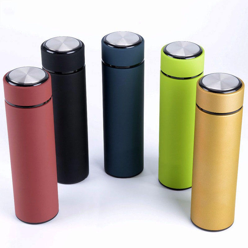 500ml stainless steel tumblers double wall insulation vacuum travel drink mugs tea infuser mug cup with lids