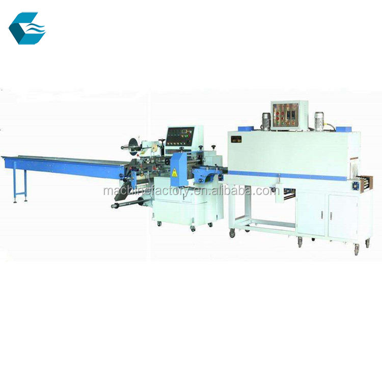 pillow vegetable/Tea Cup shrink packaging machine