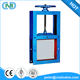 Carbon Steel Square Port Manual Sluice Gate Valve