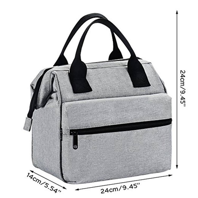 Waterproof Picnic Cooler Bag for Frozen Food Insulated Rolling Lunch Bag