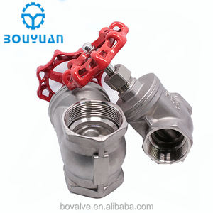 Cheap price Stainless steel 304 316 Threaded gate valve