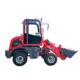 Yongyi mini garden tractor backhoe 0.8ton wheel loader