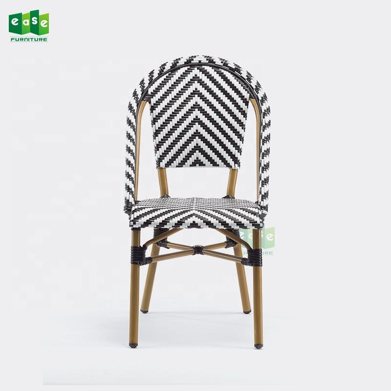Commercial furniture restaurant faux bamboo parisian cafe chairs rattan  E3007