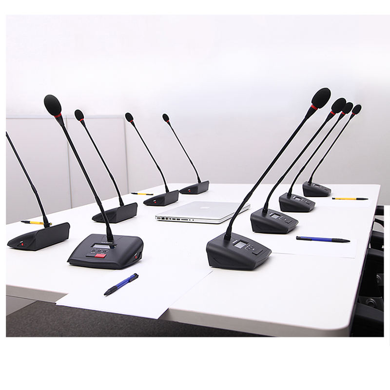 Wireless conference system support 256 units microphone YARMEE YCU891