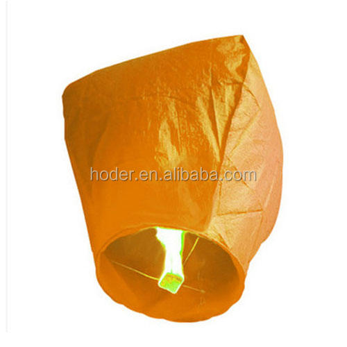 China manufacture High quality wholesale flying chinese 100% biodegradable sky lanterns