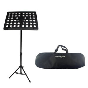 Colorful aluminum alloy material flexible folding music stand with bag