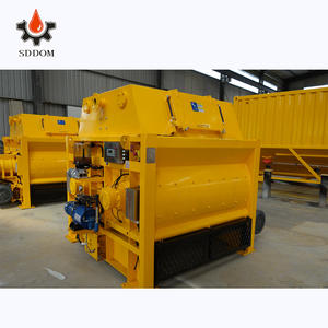 Japan 1 cubic meters electric motor JS1000 twin shaft beton machine concrete mixer for concrete batching plant
