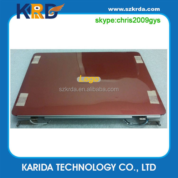 100% original laptop top case para Dell Inspiron 1525 1526 Red Lcd Back Cover