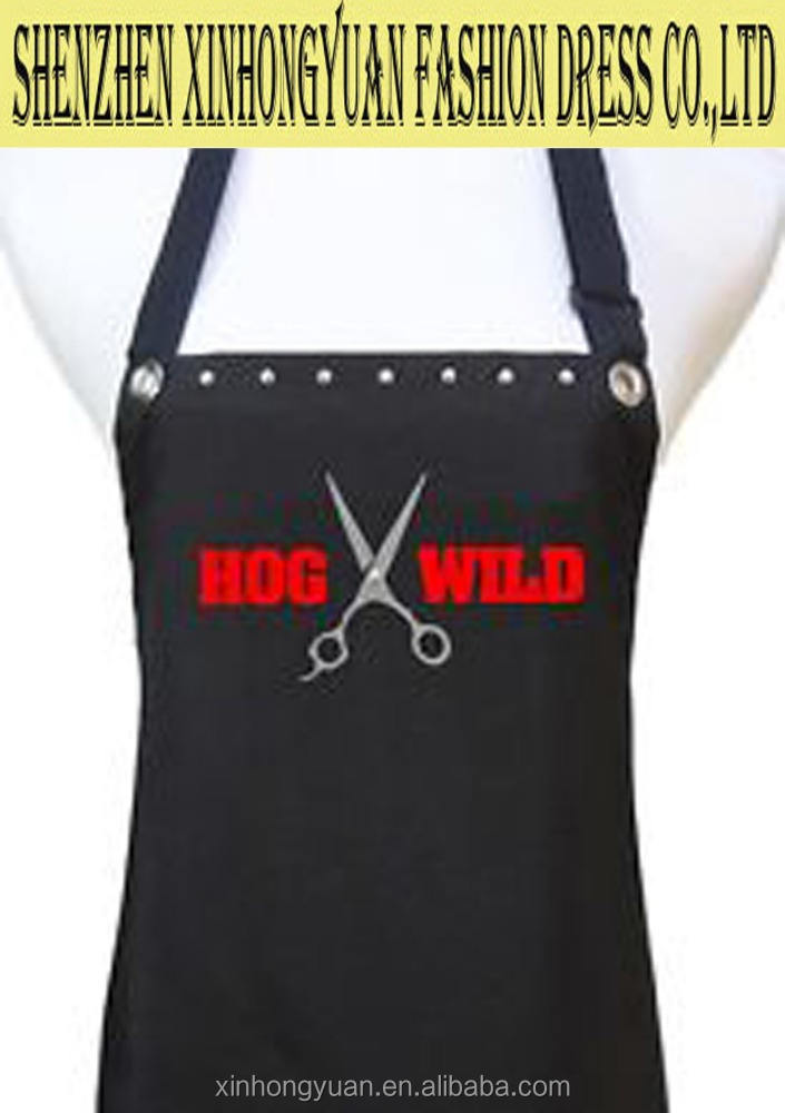 Special designed apron with your logo on, for barber, beauty salon,painter ,worker ,house-cleaner, chef