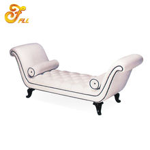 hotel furniture leather Indoor chaise lounge for bedroom
