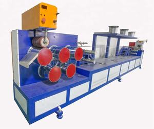 150-200kg/h plastic PET 1 Screw 2 Strap PET strapping band production line machine