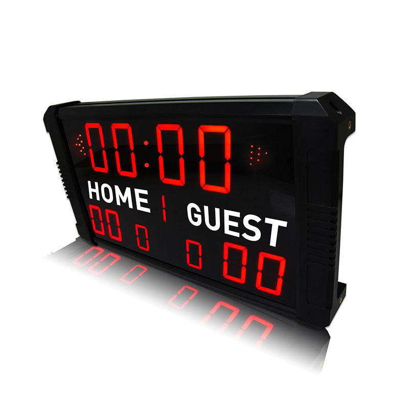 Ganxin Multi-Function Mini Used Electronic Football Futsal Billiard Score board For Sale