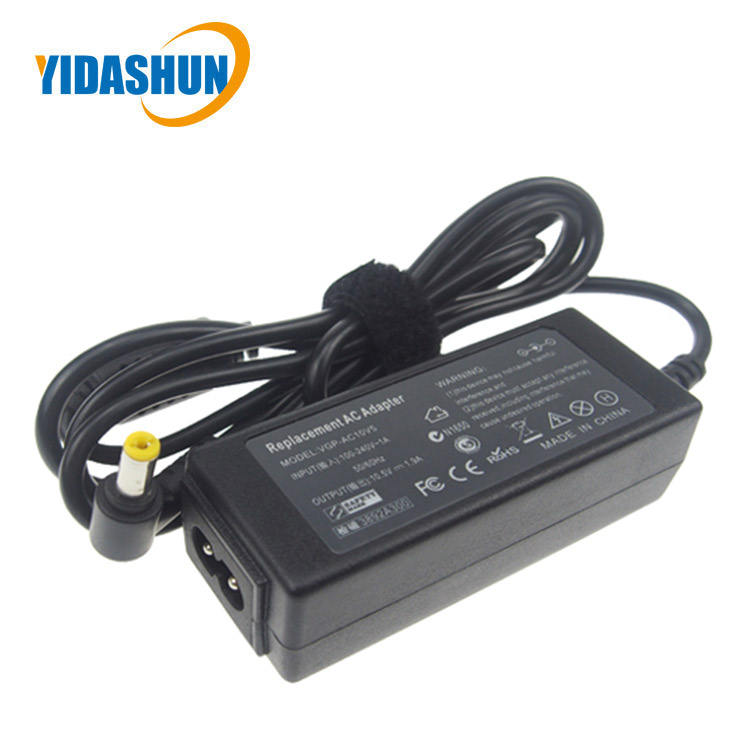China manufacturer supply 20W laptop charger parts 4.8*1.7 mm ac dc adapter with CE certificates
